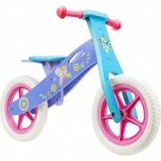 Bicicleta din lemn fara pedale Frozen Seven, 12 inch, 2-6 ani