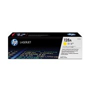 HP 128A Toner Cartridge - Yellow