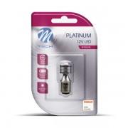 M-TECH LED P21/5W 4xSMD3030 12V White крушка