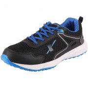 Sparx Men's Black Blue Sports Running Shoes