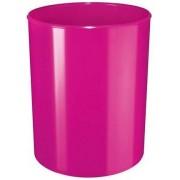 Cos de birou pentru hartii, 13 litri, HAN iLine - roz lucios