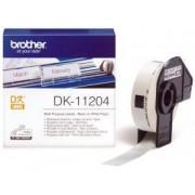 Brother DK-11204 (Noir/Blanc) - ORIGINALE