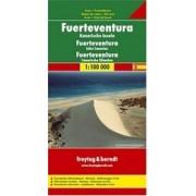Wegenkaart - landkaart Fuerteventura   Freytag & Berndt