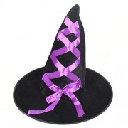 Yuxing Witch Hat with Bowknot Halloween Costume Accessories (B)