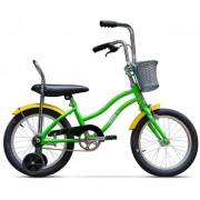 "Bicicleta Pegas Mezin 1S, Cadru 9"", Roti 16"" (Verde)"