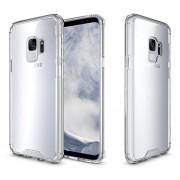 Funda Case Para Samsung S9 (No Plus) Protector Transparente De Acrílico Con Bordes De Plastico TPU