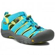 Sandale KEEN - Newport H2 1012314 Hawaiian Blue/Green Glow
