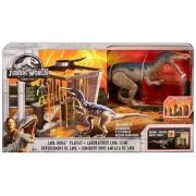 Jurassic World - Laboratorio Lava Slime - Baryonyx - Mattel