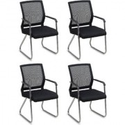 Fabsy Interior - Budget Mesh Chair In Black By Fabsy Interiors (Set Of 4 Pcs.)