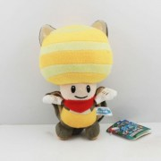 """Super Mario Bros Plush 7.9"""" / 20cm Flying Squirrel Toad Yellow Character Doll Stuffed Animals Figure Soft Anime Collection Toy"""