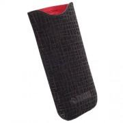 Phone Case, Krusell Visby 3XL - калъф от естествена кожа за iPhone 6, Galaxy S3/4 и мобилни телефони (11875)