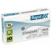 Capse 23/ 8, 1000 buc/cutie, RAPID Standard