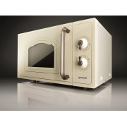 Cuptor cu microunde Gorenje Il Classico MO 4250 CLI, 700 W, 20 l, Grill, Bej