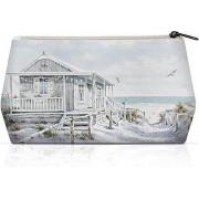 Ambiente - Cosmetic Bag Beach Cabin - Toilet tas - Make-up tas