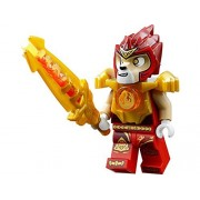 LEGO CHIMA LAVAL MINIFIGURE FROM SET #70144, LEGO LAVAL MINI FIGURE