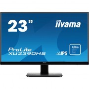 Monitor Iiyama LED 23'' XU2390HS-B1, IPS, Full HD, DVI, HDMI, boxe, Negru