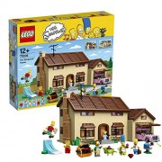 Lego The Simpsons House, Multi Color