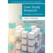 Case Study Research - Principles and Practices (Gerring John (University of Texas Austin))(Paperback) (9781316632505)