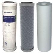DIPROCLEAN Kit triples cartouches 9 3/4 pouces eau de boisson DOM-TOM