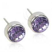 Blomdahl Titanium Bezel Violet - 12