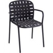 Emu Yard Armchair tuinstoel black/grey