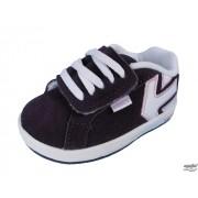 rövidszárú cipő gyermek - ETNIES - PURPLE/WHITE