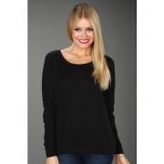 Alternative Apparel Eco-Heather Slouchy Pullover Eco True Black