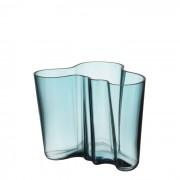 Alvar Aalto Vase Seeblau 160 mm Iittala