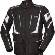IXS X-Tour Powells-ST Chaqueta de la motocicleta Negro Blanco 7XL