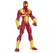 Spiderman Marvel Ultimate Spider-Man Web Warriors Iron Spider Basic Figure