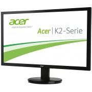 Monitor Acer KA210HQbd (LED) 20.7 (53 cm), Format: 16:9, Resolution: Full HD (1920х1080), Response time: 5 ms, Contrast: 100M:1, Brightness: 200 cd/m2, Viewing Angle: 90°/65°, VGA+DVI (DVI w/HDCP), Energy Star 6.0, Acer ComfyView, Acer EcoDisplay, Ac