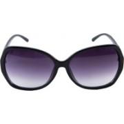 Erminio Palamino Over-sized Sunglasses(Black)