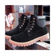 Hombre Botas Casual Para Invierno Fashion-cool- Negro