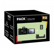 Pack Fnac Appareil photo compact Canon PowerShot G5X + Etui + Carte de mémoire SD 16 Go - Appareil photo compact