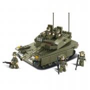 Stavebnice Sluban Army izraelský tank Merkava M38-B0305