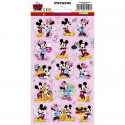 Disney Mickey en Minnie Mouse stickervel