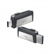 USB DRIVE, 64GB, SanDisk Ultra Dual, USB Type-C (SDDDC2-064G-G46)