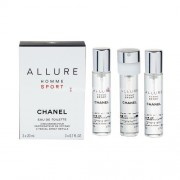 Chanel Allure Homme Sport 20ml Eau de Toilette за Мъже пълнители