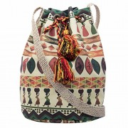 The House of tara Women's Sling Bag (Multi-Colored)
