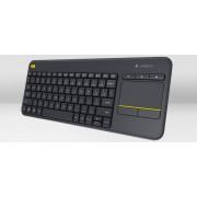 K400 Plus Wireless Touch Keyboard Black HU (920-007157)