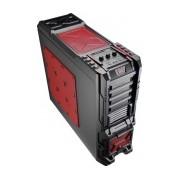 Gabinete Aerocool Strike X ST Devil Red, Full-Tower, ATX/micro-ATX, USB 2.0/3.0, sin Fuente, Negro/Rojo
