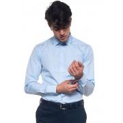 Boss Camicia classica da uomo Jenno Celeste Cotone Uomo