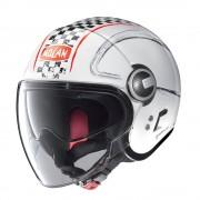 Nolan Moto Helma Nolan N21 Visor Getaway Metal White-Red Xs (53-54)