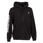CONVERSE MIXED MEDIA FULL ZIP HOODIE Converse kapucnis felső
