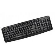 Tastatura Serioux SRXK-9400P, PS2, Black