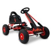 RIGO Kids Pedal Go Kart Car Ride On Toys Racing Bike Red [GKRT-F1A-RD]