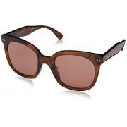 Kate Spade Gafas de Sol para Mujer, Dark Havana, 52 mm
