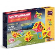 Joc de constructie magnetic MAGFORMERS, My First, Animale, 20 piese