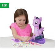 My Little Pon Brand New Pony Twilight Sparkle Styling Head Christmas Gift