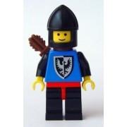 Black Falcon - Black Legs with Red Hips, Black Chin-guard, Quiver Lego Mini Figure